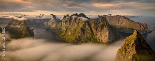 Obraz na płótnie Helvete panoramic view