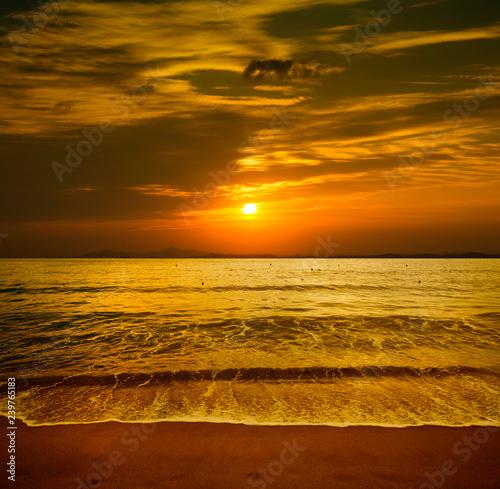 Fotografía  Haeundae Beach in Busan, Korea.