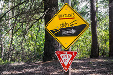 Signs Depicting The Rules To B...