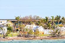 Many Damaged, Destroyed Houses...