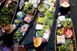 Floating Market Thailand Lifestyle