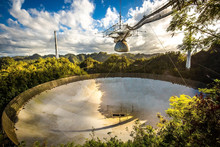 Large Radio Telescope In Areci...