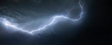 Lightning On A Sky