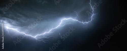 Obraz Lightning on a sky - fototapety do salonu