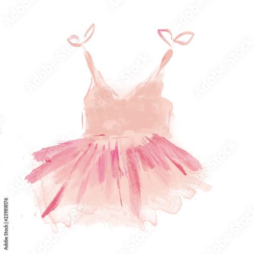 Fotografie, Obraz  Cute Pink Ballet Tutu