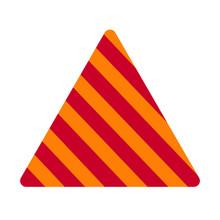 Striped Cone Illustration Back...