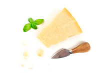 A Piece Of Aged Parmesan Chees...