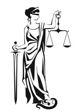 Themis Symbol Of Justice And L...