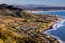 City Of Pismo Beach, Ocean, Coastline