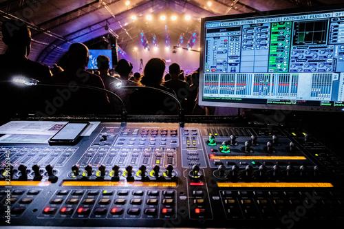 Fotografie, Obraz  concert mixer