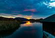 Sonnenuntergang am schönen Staffelsee