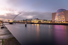 View Of Dublin Skyline And Riv...