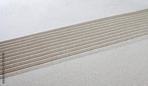 Valokuva  lignes dans le sable vague texture