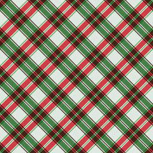 Plaid Seamless Pattern - Plaid Design For Christmas Holiday