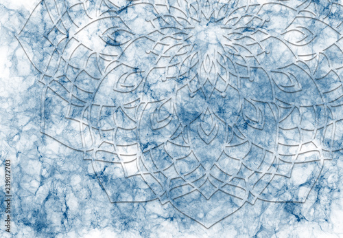 Abstract Mandala Graphic Design And Watercolor Digital Art Painting For Ancient Geometric Concept Background Buy This Stock Illustration And Explore Similar Illustrations At Adobe Stock Adobe Stock