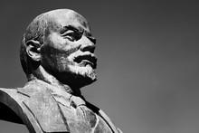 Old Monument Of  V.I. Lenin, L...