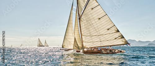 Foto Sailing yacht race regatta