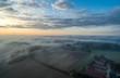 Nebel von oben