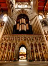 Ripon Cathedral Interior, North Yorkshire
