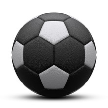 Black And White Soccer Ball Wi...