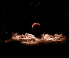 Lunar Eclipse Or Blood Full Mo...