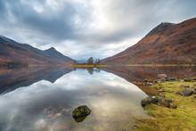 Loch Leven In Scotland