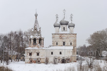Old Abandoned Church, Winter Time