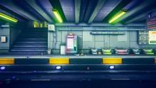Retro Metro Pixelart