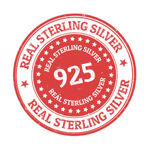 Real Sterling Silver Sign Or S...