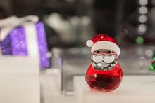 Crystal Santa Claus / Papai Noel De Cristal