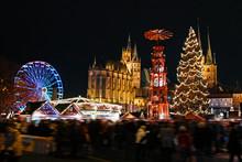 Christmas Market Erfurt Germany