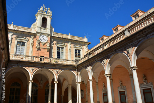Fototapeta Palazzo Doria Tursi on via Garibaldi