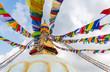 Leinwanddruck Bild - Boudhanath Stupa in Kathmandu, Nepal