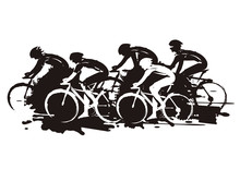 Cycling Race, Expressive Styli...