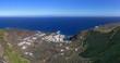 El Hierro - Panorama Blick auf Tamaduste, rechts der Flughafen der kleinsten Kanarischen Insel
