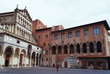 Cathedral of Sain Zeno and Old Bishops Palace, Pistoia, Italy