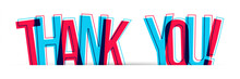 Thank You! Vector Letters Crea...