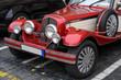Roter Oldtimer Front