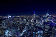 New York City Vista Dall'alto
