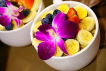 Acai Bowl With Granola, Banana...