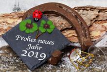 Happy New Year 2019, Greeting ...