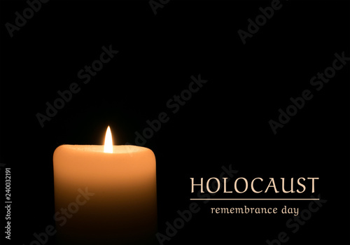 Canvastavla Holocaust remembrance day