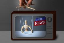 Fake News On TV. The Correspon...