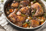 Homemade French Coq Au Vin Chicken - 240049392