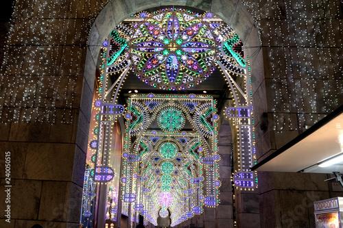 Fotografie, Obraz  Luci di Natale in Duomo Rinascente
