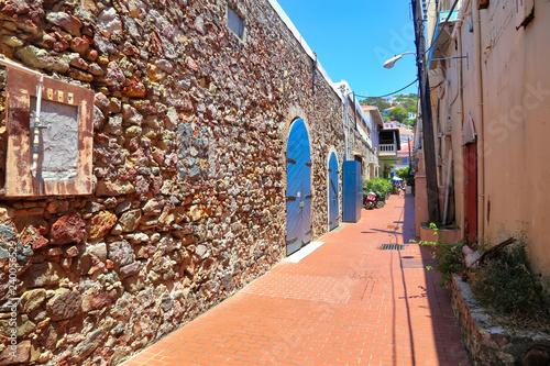 Fotografie, Obraz  Beautiful Charlotte Amalie streets in historic city center