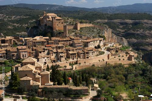 Fotografía Alquezar precioso pueblo de Aragón, España