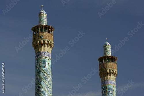 Fotografia  Abbasi Great Mosque in Isfahan (Esfahan). Iran
