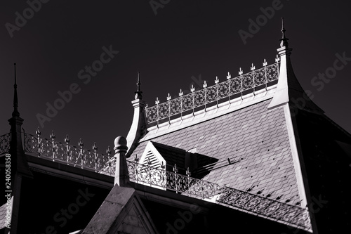 Fotografia, Obraz Roofline