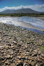 Pebbled Irish Beach